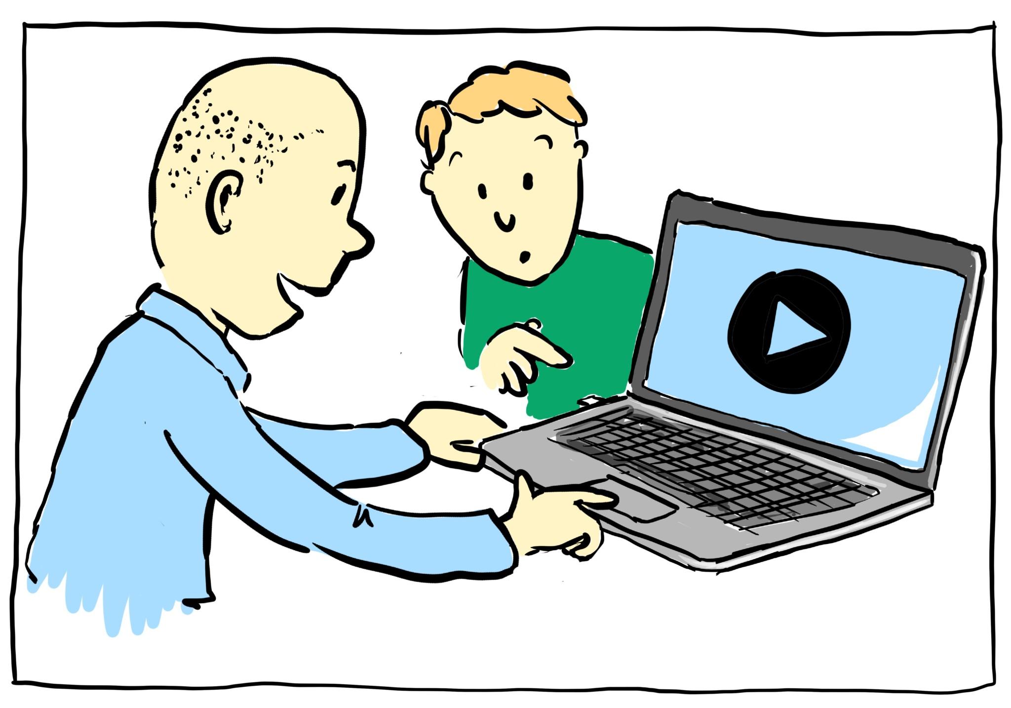 Tegnede film fra Visuel Retning