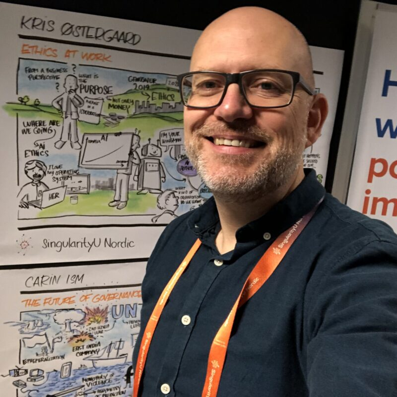 Visuelle referater hos SingularityU Nordic oktober 2020